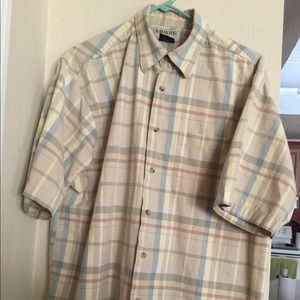 Men's Savane size large casual shirt